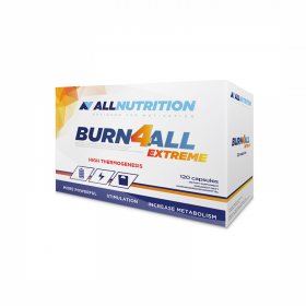 Burn4all Extreme термогенна формула, изгаряща телесните мазнини Allnutrition - 120 Капсули