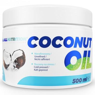 Coconut Oil Unrefined - Кокосово Масло Allnutrition - 500 ml