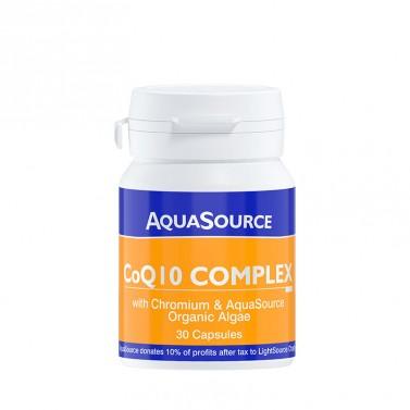 Коензим Q10 Комплекс / CoQ10 Complekx AquaSource - 30 Капсули