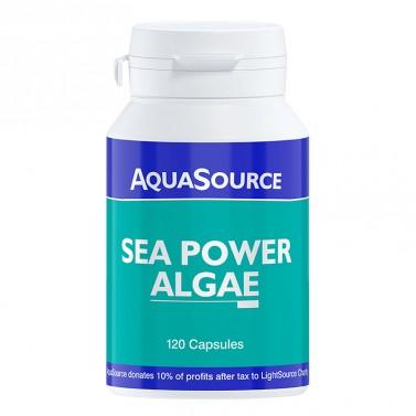 Водорасли Морска енергия / Sea Power Algae AquaSource - 120 Kапсули