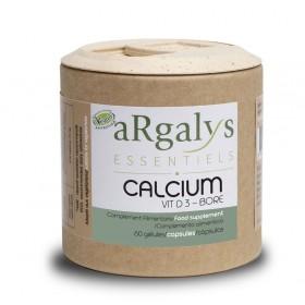 Калций + Витамин D3 + Бор Argalys Essentiels - 60 Вега капсули