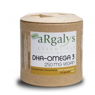 Омега 3 / Omega 3 DHA 250 mg ВЕГАН Argalys Essentiels - 60 Вега капсули