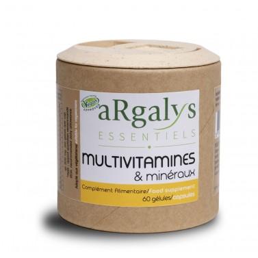 Мултивитамини и Минерали Argalys Essentiels - 60 Вега капсули