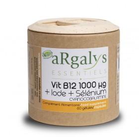 Витамин B12 + йод + селен Argalys Essentiels - 60 Вега капсули