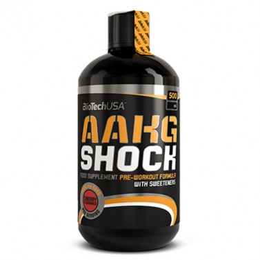 Аргинин алфа-кетоглутарат AAKG Shock Extreme BIOTECH USA - 1000 ml