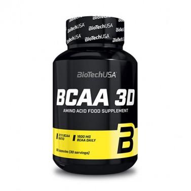 BCAA 3D BIOTECH USA - 90 Капсули