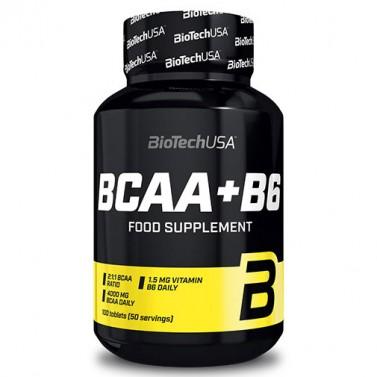 BCAA + B6 BIOTECH USA - 100 / 200 / 340 Таблетки