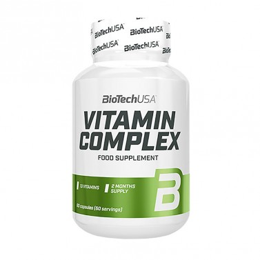 Витамин комплекс / Vitamin Complex BioTech USA - 60 таблетки