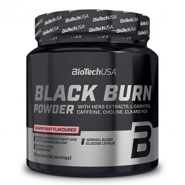 Black Burn Drink Powder с вкус Грейпфрут BIOTECH USA