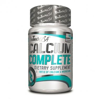 Калций Complete 600 mg BIOTECH USA - 90 Капсули