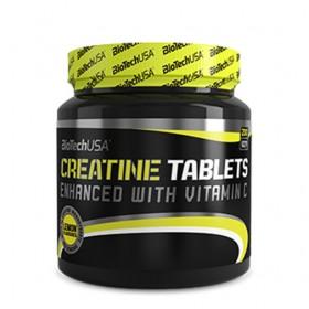 Креатин с вкус на лимон BIOTECH USA - 200 Таблетки