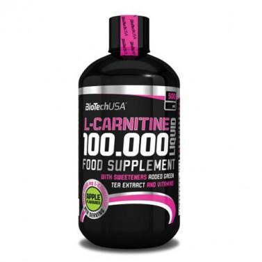 Течен L-карнитин 100.000 - 500 ml BIOTECH USA
