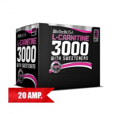 Л-карнитин / L-Carnitine 3000 BIOTECH USA - 20 шота