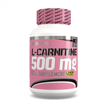 Л-карнитин / L-carnitine 500 mg BIOTECH USA - 60 Таблетки