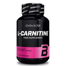 Л-карнитин / L-Carnitine 1000 mg BIOTECH USA - 30 / 60 Таблетки