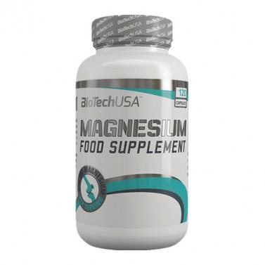 Магнезий / Magnesium 350 mg BIOTECH USA - 120 Капсули