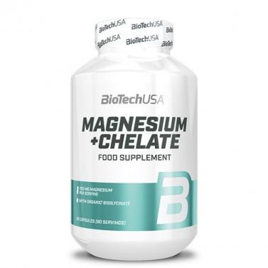 Магнезий + хелат / Magnesium + Chelate BIOTECH USA - 60 Капсули