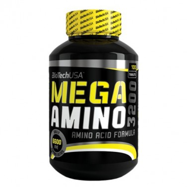 Мега амино 3200 BIOTECH USA - 100 / 300 / 500 Таблетки