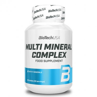 Мулти минерал комплекс BIOTECH USA - 100 Таблетки
