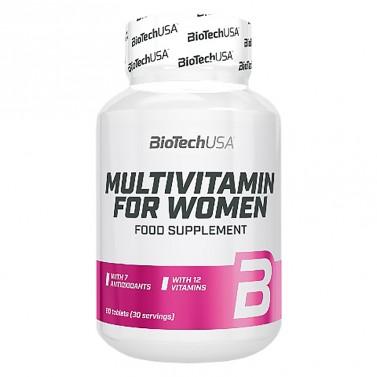 Мултивитамини за жени BioTech USA - 60 таблетки