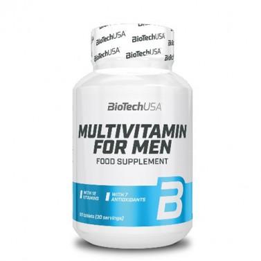 Мултивитамини за мъже BIOTECH USA - 60 таблетки