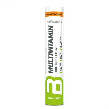 Мултивитамини BIOTECH USA - 20 Ефервесцентни таблетки