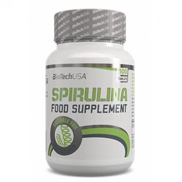 Спирулина / Spirulina 450 mg BIOTECH USA - 100 Таблетки