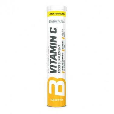 Витамин C BIOTECH USA - 20 Ефервесцентни таблетки