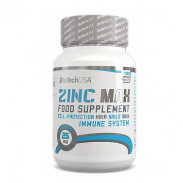 Цинк Макс / Zinc Max BIOTECH USA - 100 Таблетки