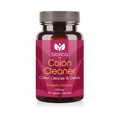 Колон клийнър / Colon Cleaner 550 mg BIOTICA - 60 Капсули