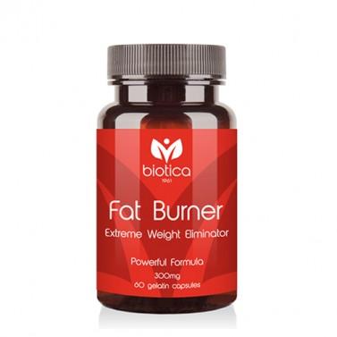 Фет бърнър / Fat burner 300 mg BIOTICA  - 60 Капсули