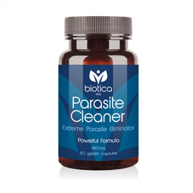 Паразит клийнър / Parasite cleaner 400mg BIOTICA - 60 Капсули