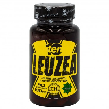 Левзея 10/Ten Cvetita Herbal - 30 капсули