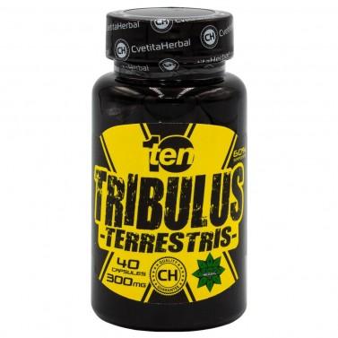 Трибулус 10/Ten Cvetita Herbal - 40 капсули