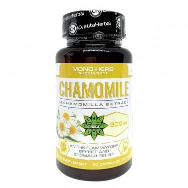 Екстракт от Лайка / Chamomile 300 mg Cvetita Herbal - 60 капсули