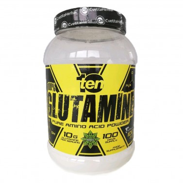 Глутамин / Glutamine 10/ten - Cvetita Herbal - 1 kg