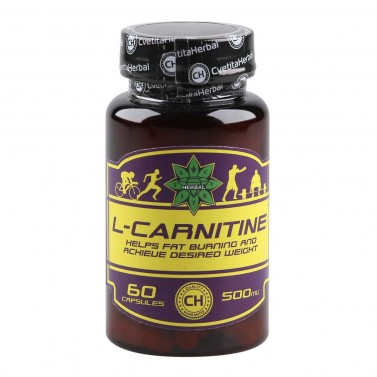 Л-Карнитин / L-Carnitine Cvetita Herbal - 60 капсули