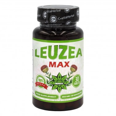 Левзея Макс Cvetita Herbal - 30/60 таблетки