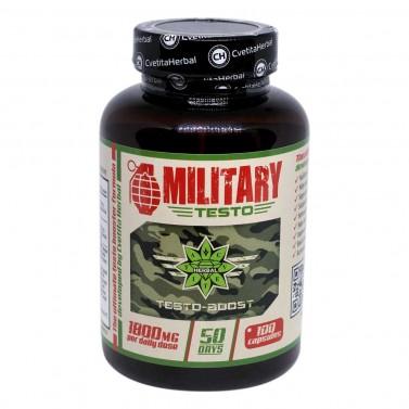 Military Testo Cvetita Herbal - 100 капсули