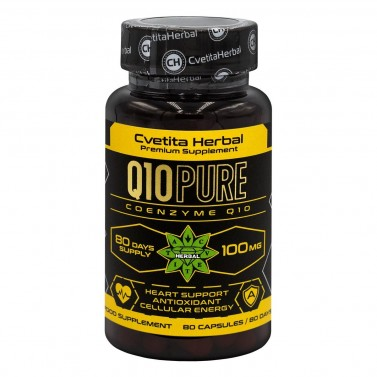 Q10 PURE Cvetita Herbal - 80 веган капсули