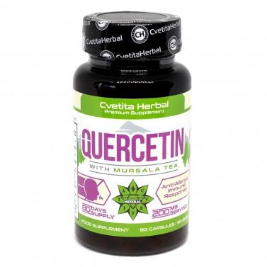 Кверцетин и Мурсалски чай / Quercetin Cvetita Herbal - 80 капсули