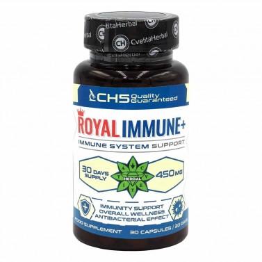 Кралски Имунитет+ / Royal Immune+ Cvetita Herbal - 30 капсули