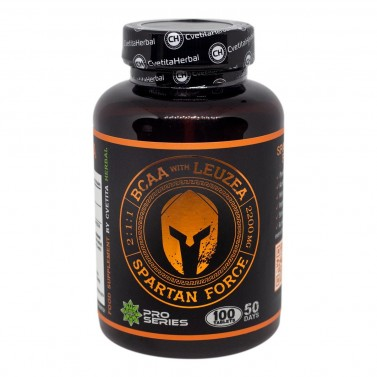 Спартан Форс - BCAA Левзея Cvetita Herbal - 100 таблетки