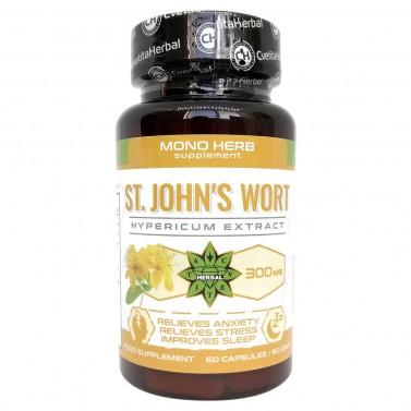 Екстракт от Жълт кантарион / St. John's Wort Cvetita Herbal - 60 капсули