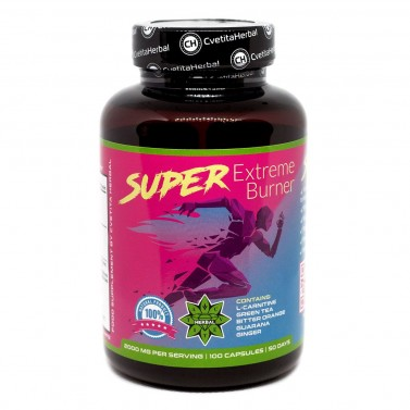 Super Extreme Burner Cvetita Herbal - 100 капсули