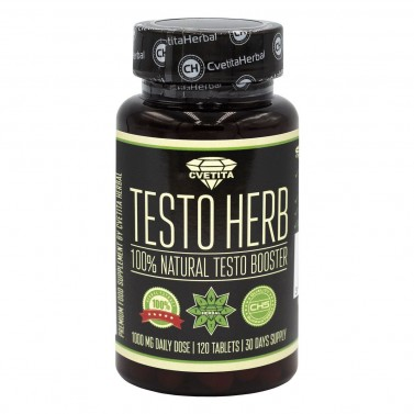 Тесто Херб Cvetita Herbal - 120 таблетки