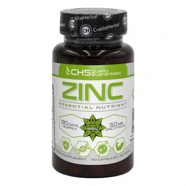Цинк / Zinc 50mg Cvetita Herbal - 80 капсули