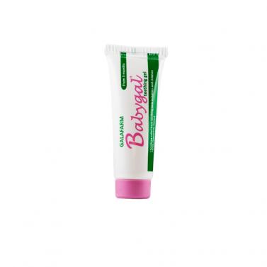 """""""BABYGAL"""" гел за масаж на венците с лайка и ментово масло Galafarm - 20 g"""