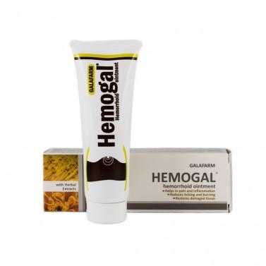 """Хемогал крем """"HEMOGAL"""" при хемороиди Galafarm - 20 g"""