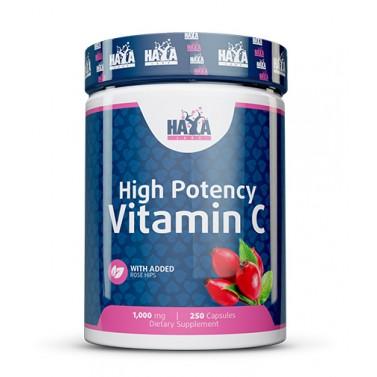 Витамин C / Vitamin C 1000mg с Шипка HAYA LABS - 250 капсули